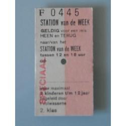 Edmonsonkaartje Station van de week