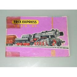 Trix catalogus 1960-61