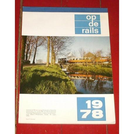 Kalender Op de Rails 1978
