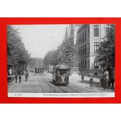 Kalenderfoto Tram 187 Amsterdam 1908
