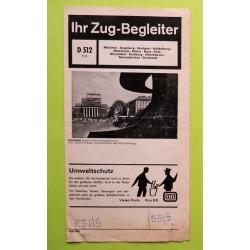 DB Zug-Begleiter D 512 juni 1975