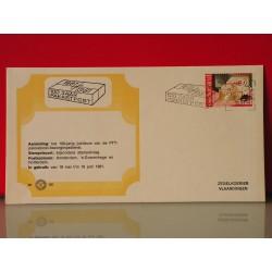 Eerste dag envelope 100 jr pakketpost