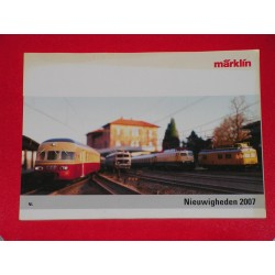 Marklin catalogus 2007
