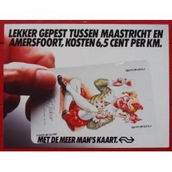 Affiche Meermanskaart Joker