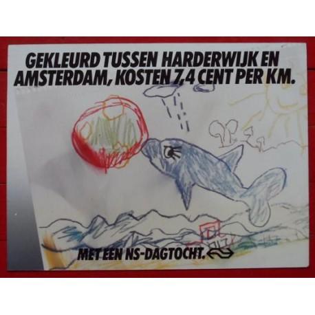 Affiche Dagtocht Dolfinarium